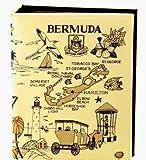Bermuda Map Embossed Photo Album 200 Photos / 4x6