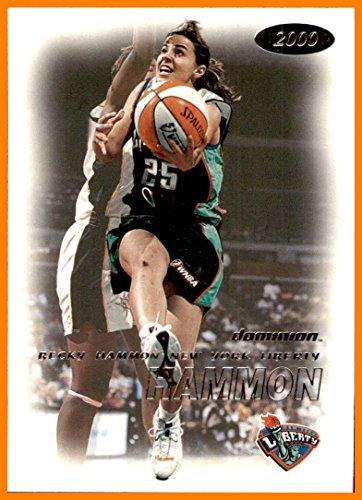 WNBA #93 Becky Hammon RC Rookie NEW YORK LIBERTY COLORADO STATE ()