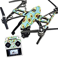 MightySkins Protective Vinyl Skin Decal for Yuneec Q500 & Q500+ Quadcopter Drone wrap cover sticker skins Blue Avocados