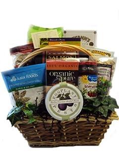 Amazon deluxe diabetic healthy christmas gift basket diabetic healthy gift basket negle Image collections
