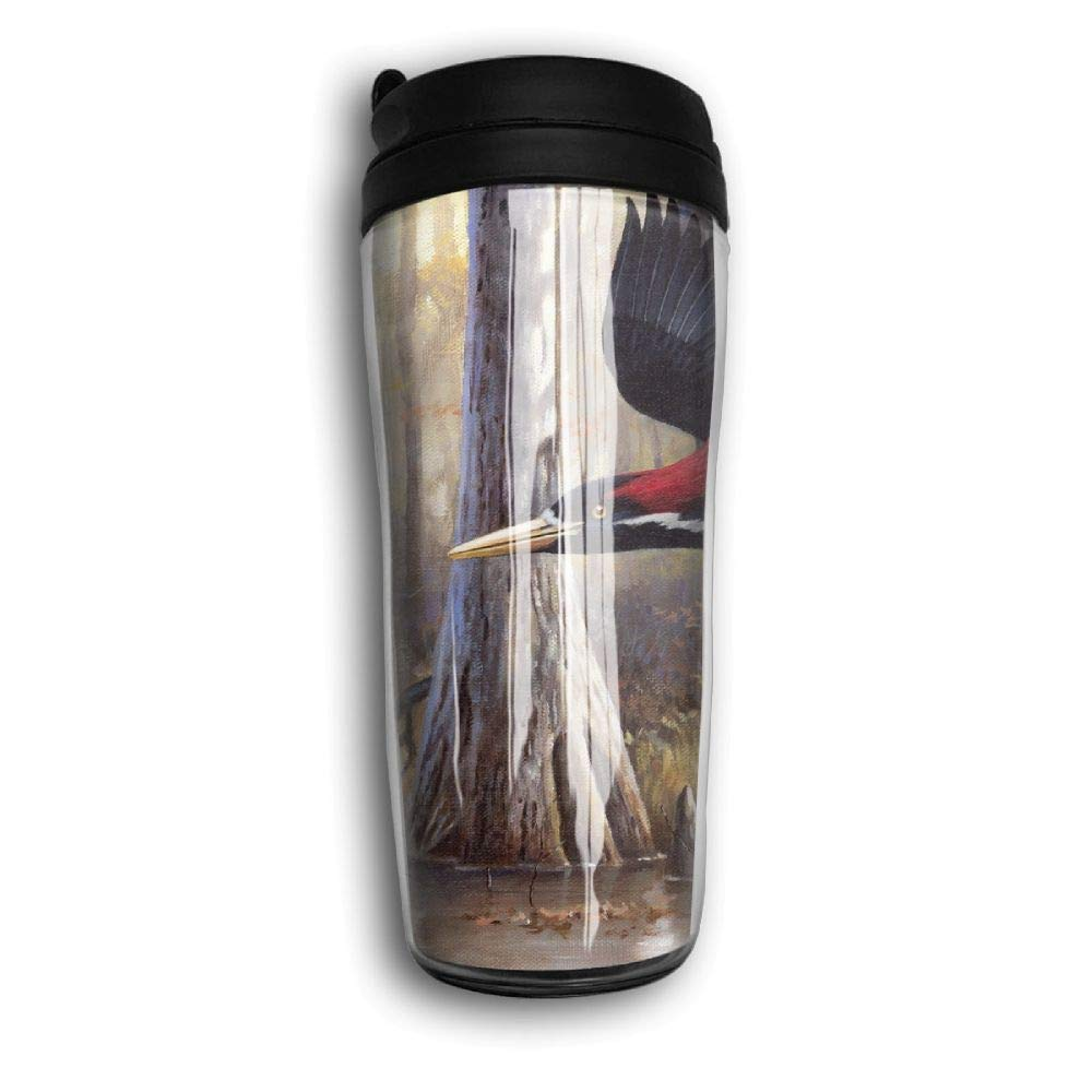 Woodpecker Flying Travel Mug Coffee Thermos Stainless Steel Flask Water Bottle