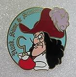 Disney's Cast Lanyard Series Hook, Slime & Stinker VHTF Disney Trading Pin