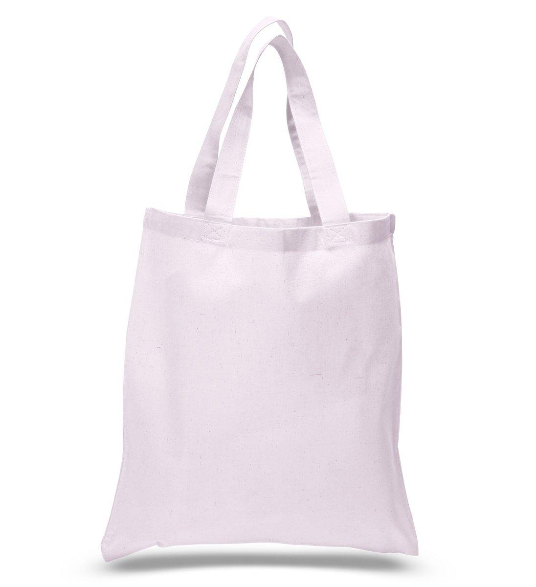 【待望★】 Set of 24 B00QDPBTVU Blank (2 Blank Cotton Tote Bags Reusable 100% Cotton Reusable Tote Bags (2 dozen) (AAssorted Mix) by ToteBagFactory B00QDPBTVU ホワイト ホワイト, 『1年保証』:9b2bf8cb --- domaska.lt