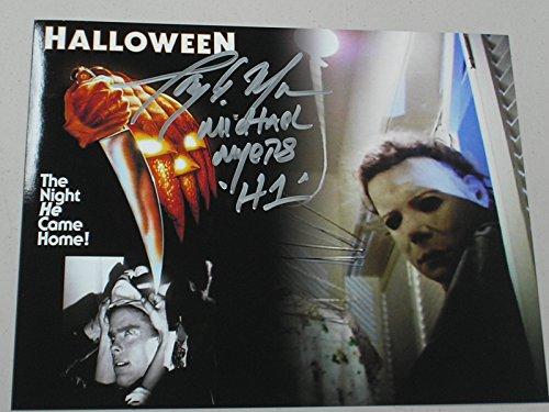 tony-moran-signed-michael-myers-custom-8x10-photo-halloween-autograph