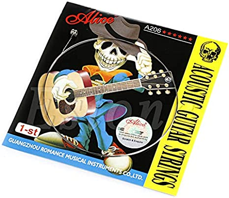 Cuerda Guitarra Acústica AliceLife de Acero Inoxidable Simple 1st String 0.28mm
