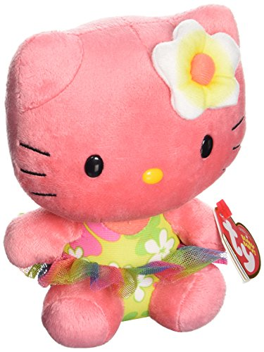 Hello Kitty - Rose Plush - TY Beanie - 15cm 6""