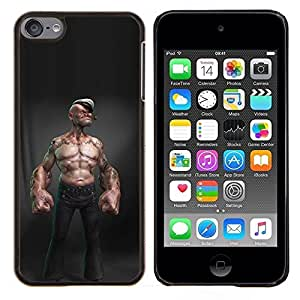 Stuss Case / Funda Carcasa protectora - Sexy Boy Man capitaine Cgi - Apple iPod Touch 6 6th Touch6
