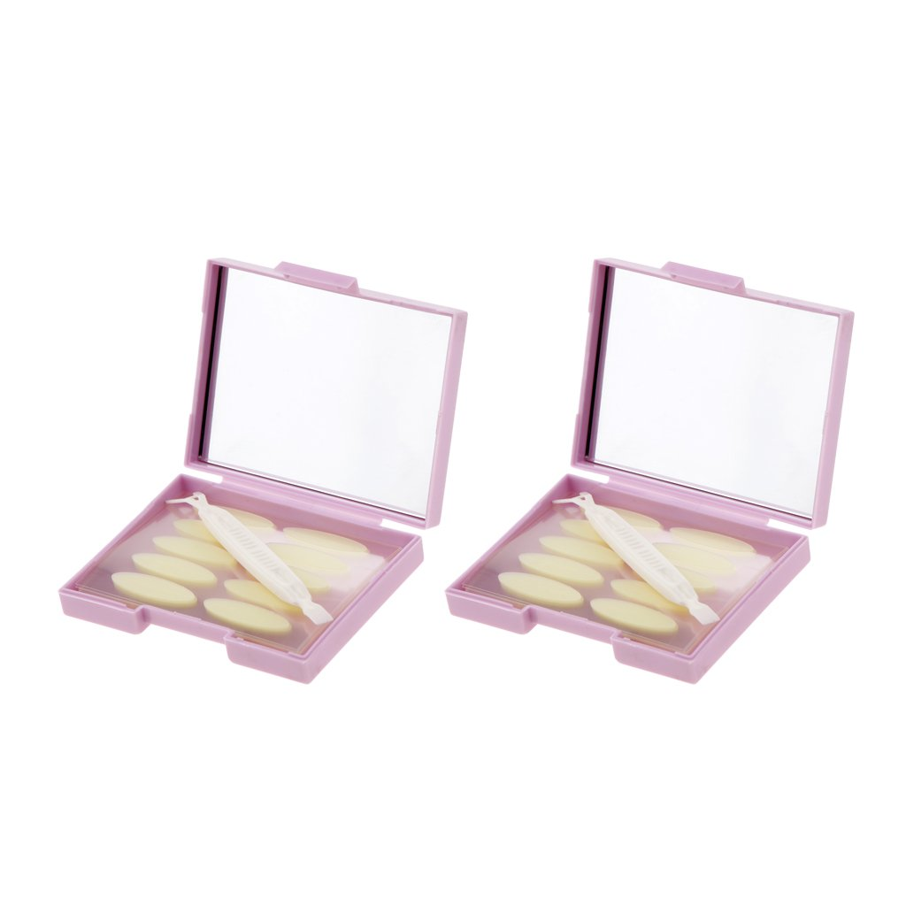 MagiDeal 2 Pack Invisible Double Eyelid Tape Eye Lift Strips Adhesive Stickers Fork non-brand