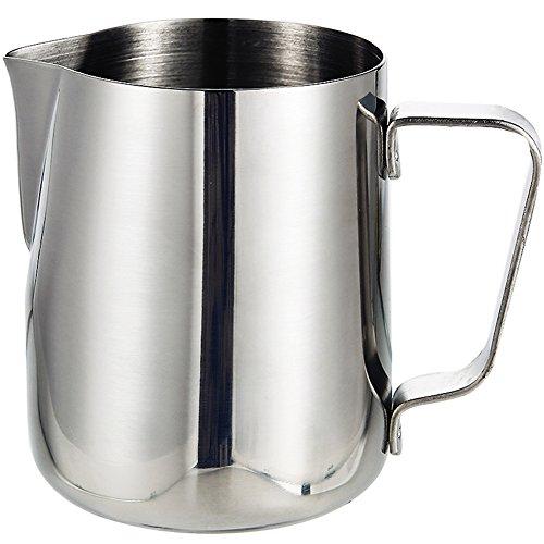 metal milk steaming pitcher - 4