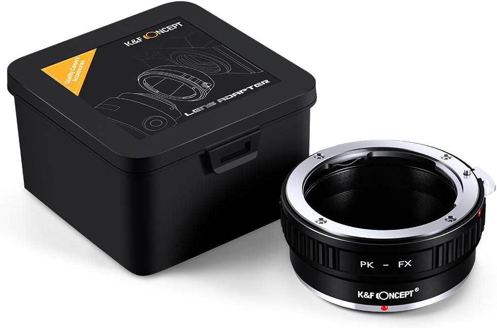 PK-FX for Pentax PK K-Mount Lens to Fuji Fujifilm X Camera Body Adapter