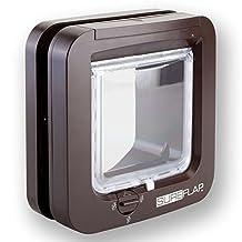 SureFlap Microchip Dual Scan Cat Flap (Brown)