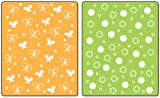 Sizzix Textured Impressions Embossing Folders 2/PK - Butterflies & Flowers Set by Stephanie Barnard