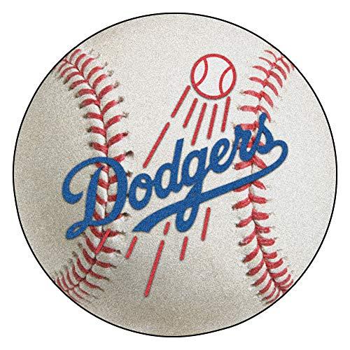 (FANMATS MLB Los Angeles Dodgers Nylon Face Baseball Rug)