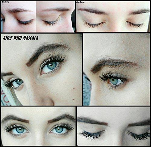 M2Beaute Mascara & Eyelash Activating Serum 5ml - 3 LOOKS BLACK NANO MASCARA with 5ml Eyelash growth Serum & M2Beaute Gift Box by M2Beaute (Image #7)