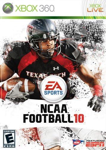 187683ab2 Amazon.com: NCAA Football 10 - Xbox 360: Video Games