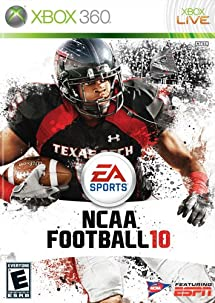ncaa football 10 xbox 360 video games. Black Bedroom Furniture Sets. Home Design Ideas