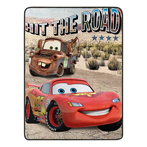 "Cars Off The Road Micro Raschel Throw Blanket, 46"" x 60"" from Cars"