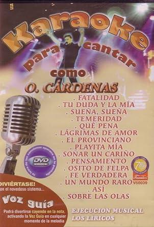 Amazon Com Karaoke Para Cantar Como O Cardenas Los Liricos Cine Y Tv