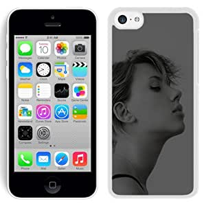 Unique Designed Cover Case For iPhone 5C With Hc Scarlett Johansson Celebrity Sexy Actress Dark (2) Phone Case