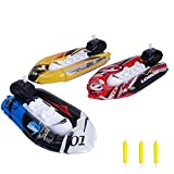 kizh Bath Toys,Pool Toys,Wind Up Toys Cochain Inflatable LifeBoat Toy Set for Kids Toddlers Swimming Pool Bathtub Toys 3 pack