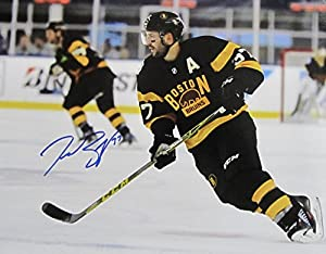 PATRICE BERGERON SIGNED Autographed 11 x 14 PHOTO BOSTON BRUINS w/COA