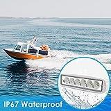 Acelane Boat Light Marine Led Light White Spreader