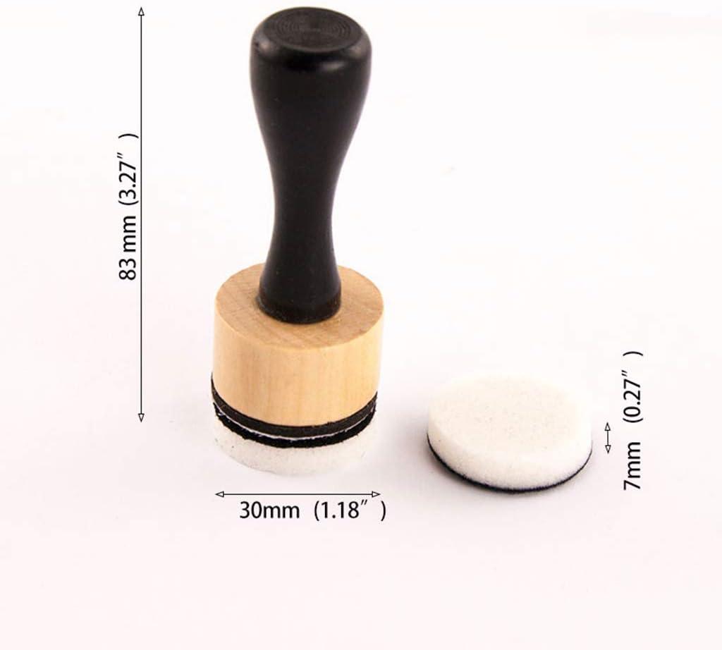 WT-BLVUVY Mini-Tinte zum Mixen von Farben Basteln 15 runde Schaumstoff-Nachf/üllungen f/ür Scrapbooking