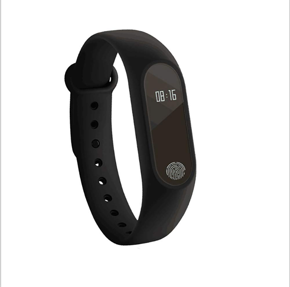 Ediand fitness tracker, cardiofrequenzimetro in Wake Up display contapassi Activity Tracker Sleep monitor messaggio Prompt Android iOS smartphones