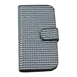 GX Teléfono Móvil Samsung - Bolsas - Diseño Especial/Apariencia de Diamante - para Samsung Galaxy Note 3 ( Plateado , Cuero PU )