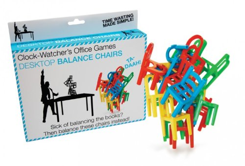Clockwatchers Desktop Balance Chairs Game