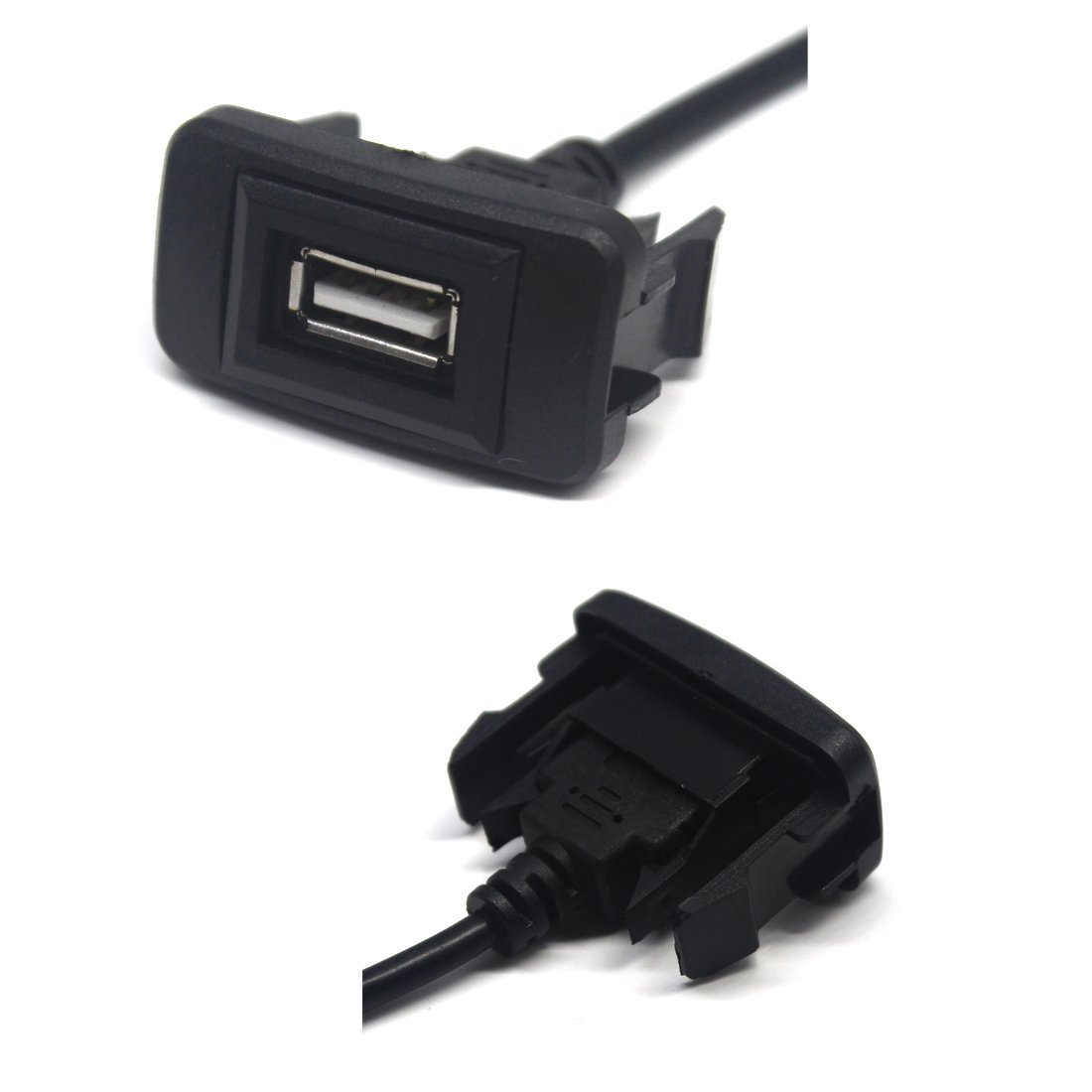 MOTONG Male To Female USB Cable Charger For Toyota VIOS//ALTIS 4327076752 Toyota USB 2.0 Charger 35 24mm