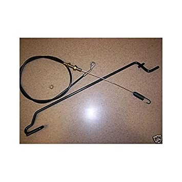 51EjNdXAKEL._SY355_ amazon com bjd39 john deere walk behind drive cable parts 14sb 14se