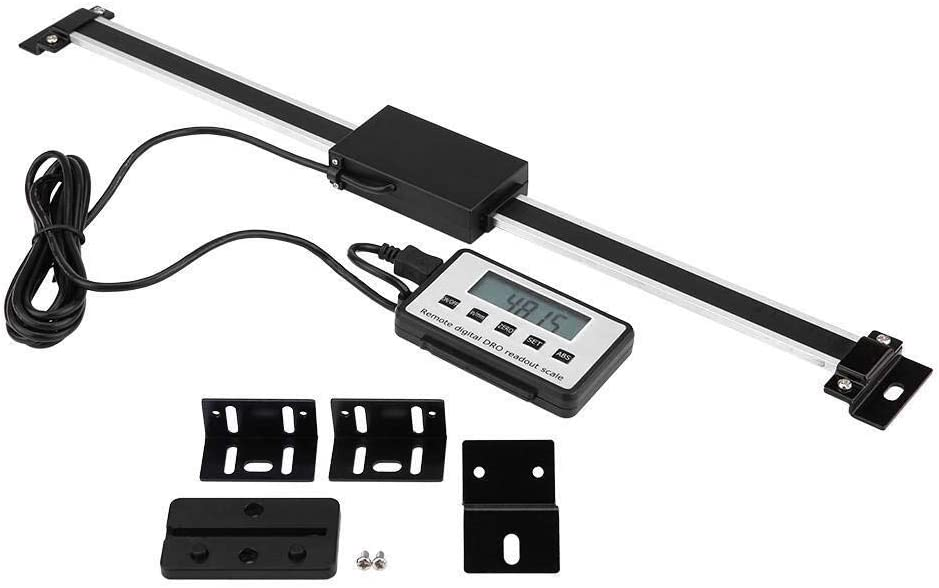 KONGZIR Digital Readout,0-300mm Accurate Digital Linear Scale LCD Readout Kit for Milling Machines Lathes