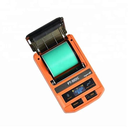 JJZXZQ PT-50DC Impresora Térmica Android iOS De Bluetooth ...