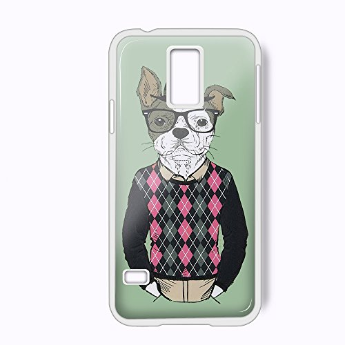 Mr.Wow For iPhone and samsung galaxy case (Samsung Galaxy S5 White)