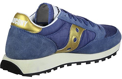 Saucony Damen Jazz Original Vintage Sneaker, Beige, 37 EU Blau