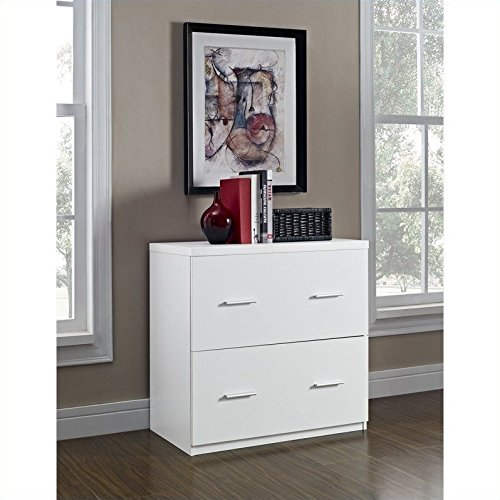 Ameriwood Home Princeton Lateral File Cabinet, White by Altra Furniture