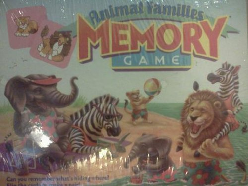 Animal Families Memory Game ()