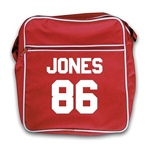 Jones 86 - Retro Flight Bag-Red Red