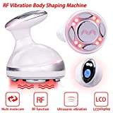 Fat Remover Machine 4 in 1 RF Vibration Machine Red Light Weight Loss Sliming Massager for stomach Radio Frequency Skin Tightening Machine with Smart LCD Display