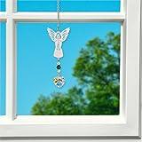Woodstock Crystal Birthstone Angel, May Emerald- Rainbow Maker Collection