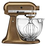 KitchenAid Artisan Design 5-Quart Stand Mixer, Antique Copper
