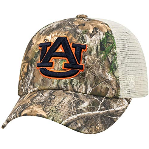 - Top of the World Auburn Tigers Official NCAA Adjustable Sentry Realtree Poly Twill and Mesh Hat Cap 367682