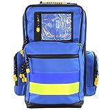 Emergency backpack, Medicus, M, blue, nylon, 48 cm x 35 cm x 23 cm