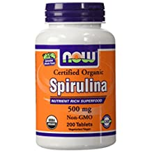 Now Spirulina 200 tabs
