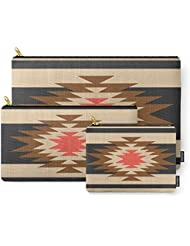 Society6 Aztec 1 Carry-All Pouch