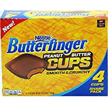 Product Of Butterfinger, King Size Peanut Butter Cups, Count 18 (3.0 oz) - Chocolate Candy / Grab Varieties & Flavors