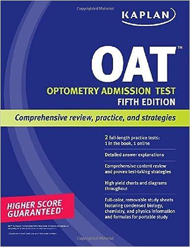 Optometry Admission Test