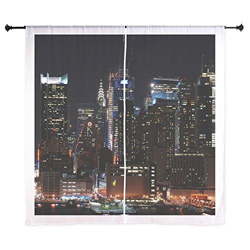 CafePress - New York City Skyline Curtains - 60