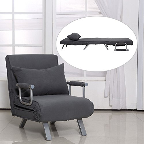 Folding Sofa Bed Sleeper: Folding Sleeper Flip Chair Convertible Sofa Bed Lounge